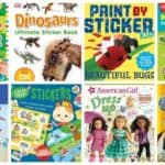 15 Recommended Sticker Books for Kids