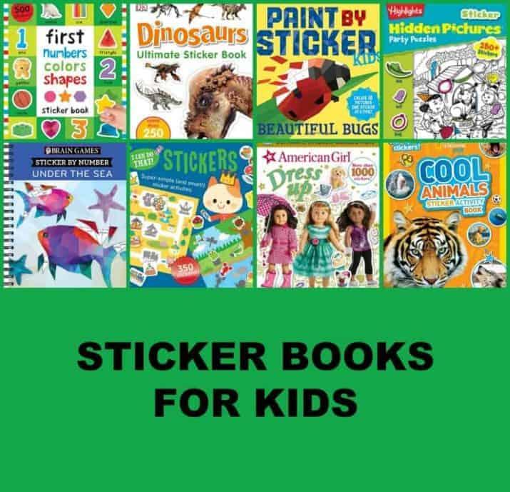 sticker books for kids