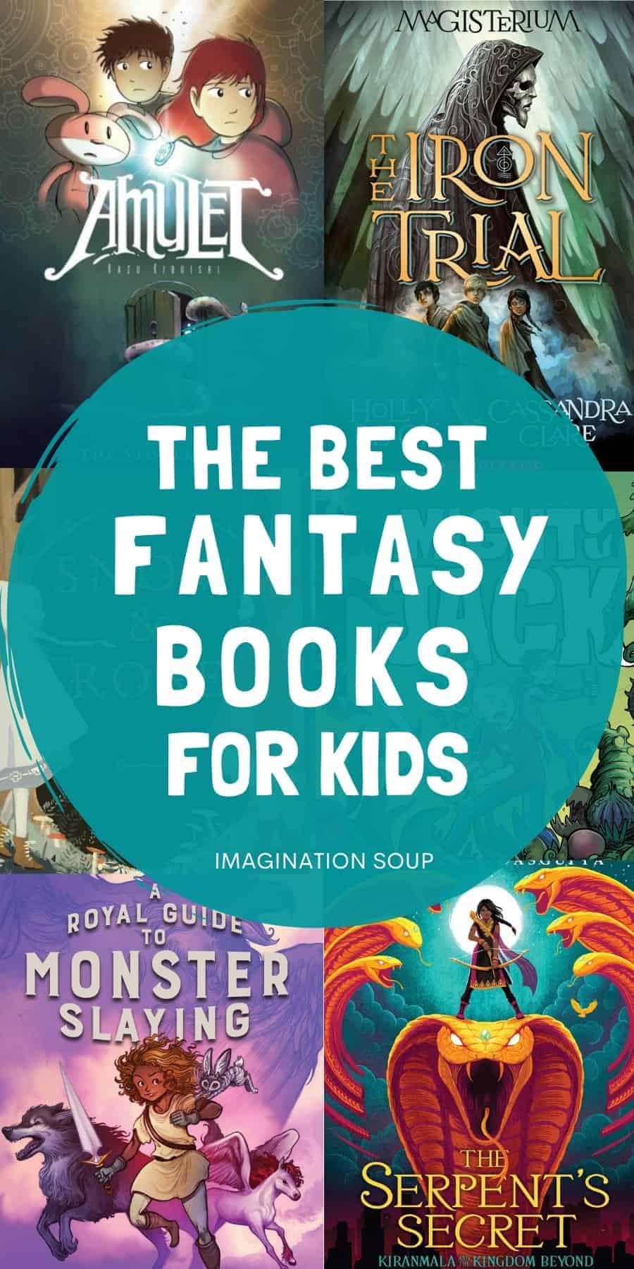 the best fantasy books for kids