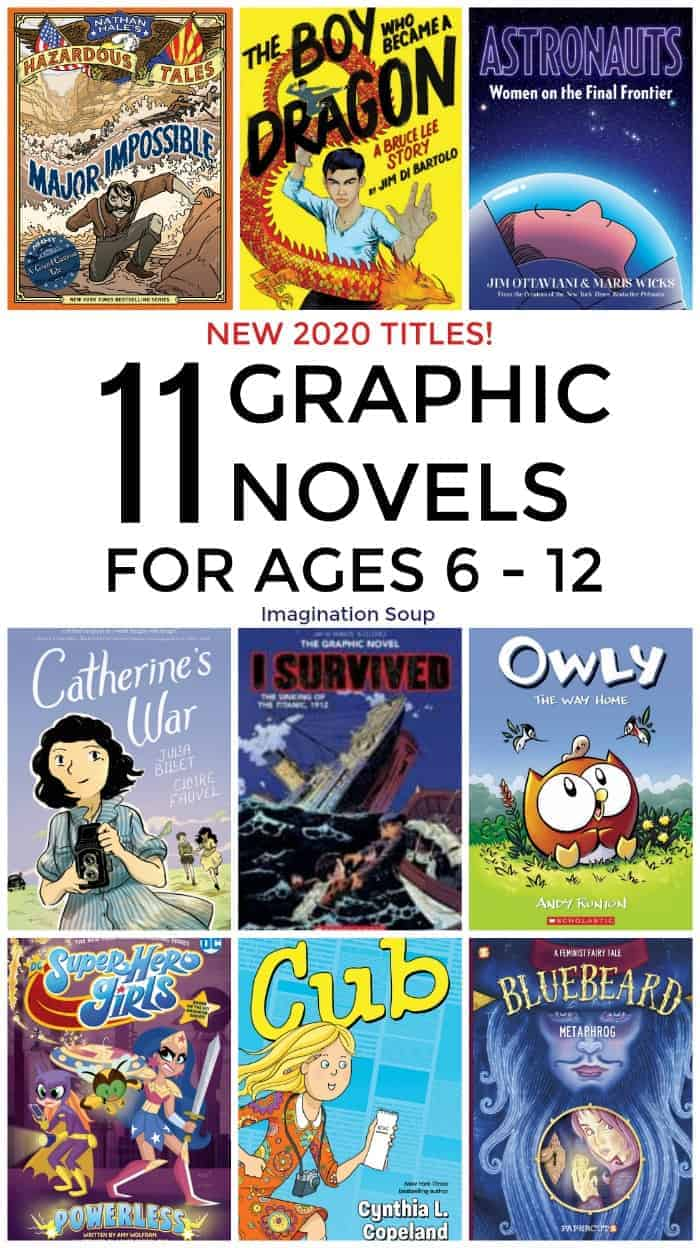 11 New 2020 Graphic Novels for Readers Ages 6 to 12