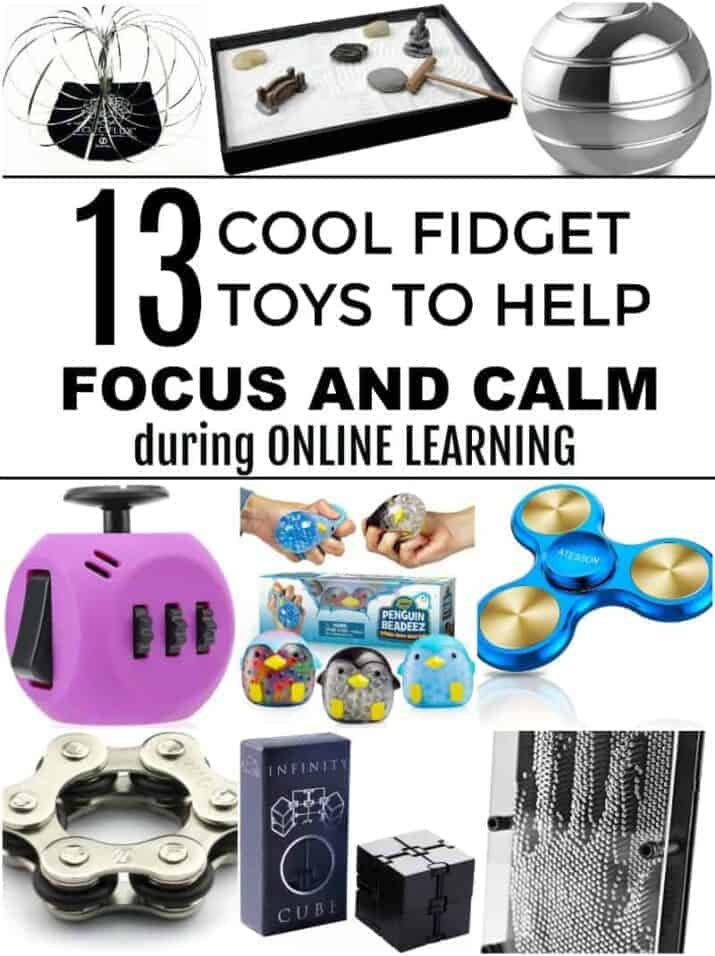13 cool fidget toys to help focus and calm during online learning