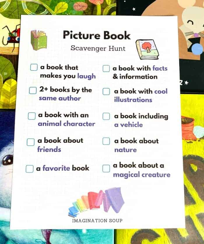 Picture Book Scavenger Hunt for Kids 3