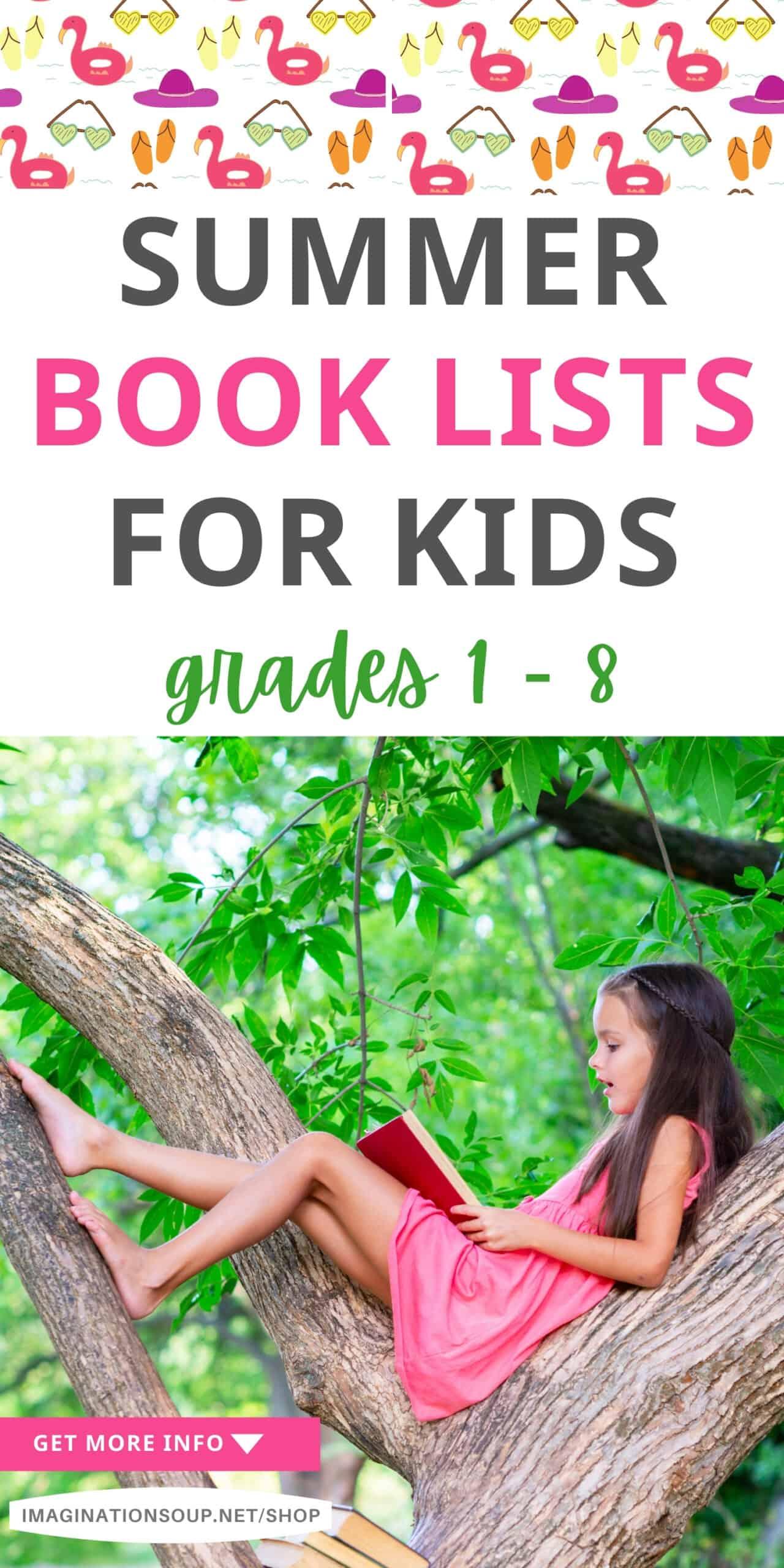 Summer Reading Lists for Kids (Grades 1 - 8)