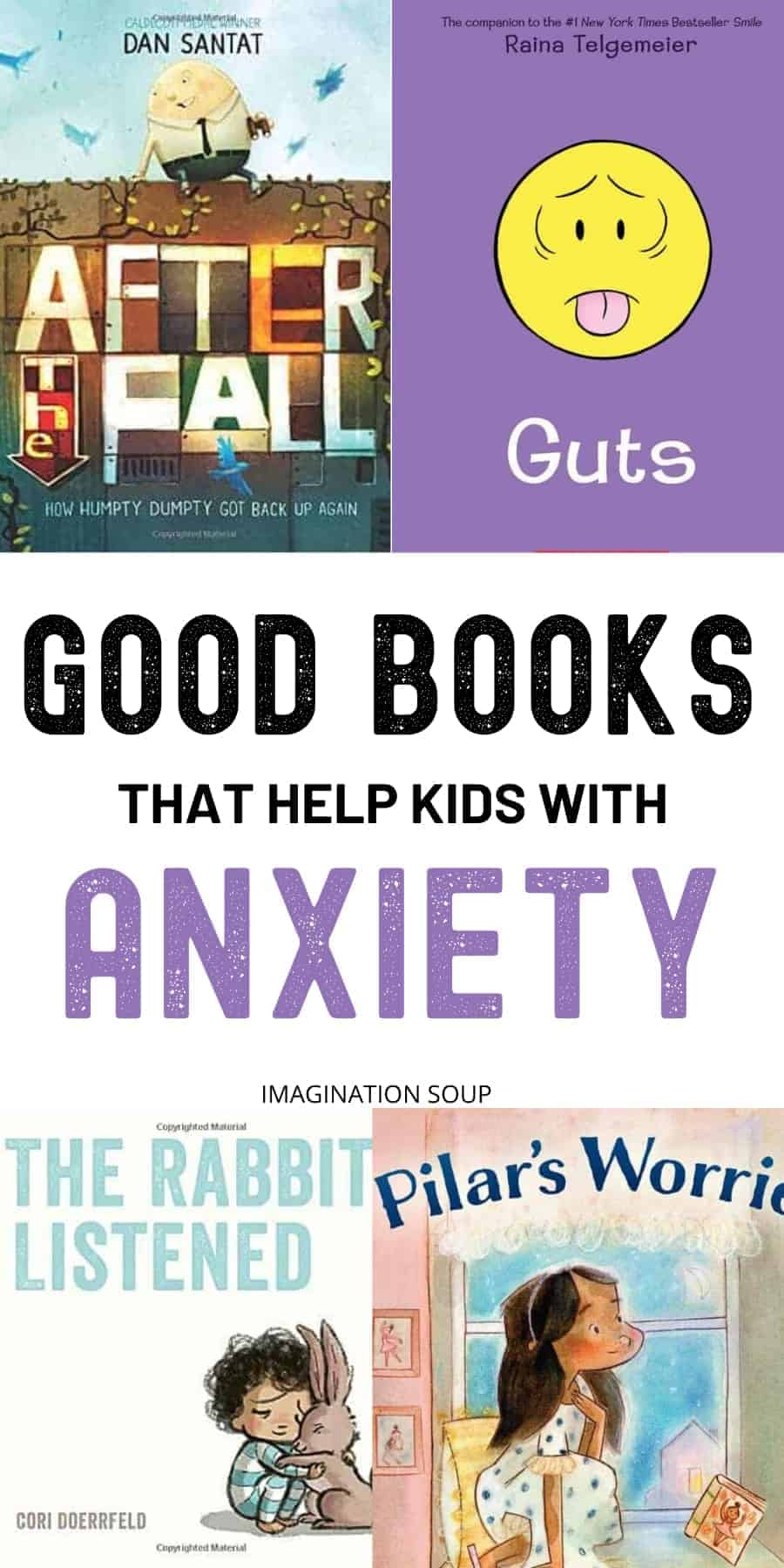 best books that help kids with anxiety