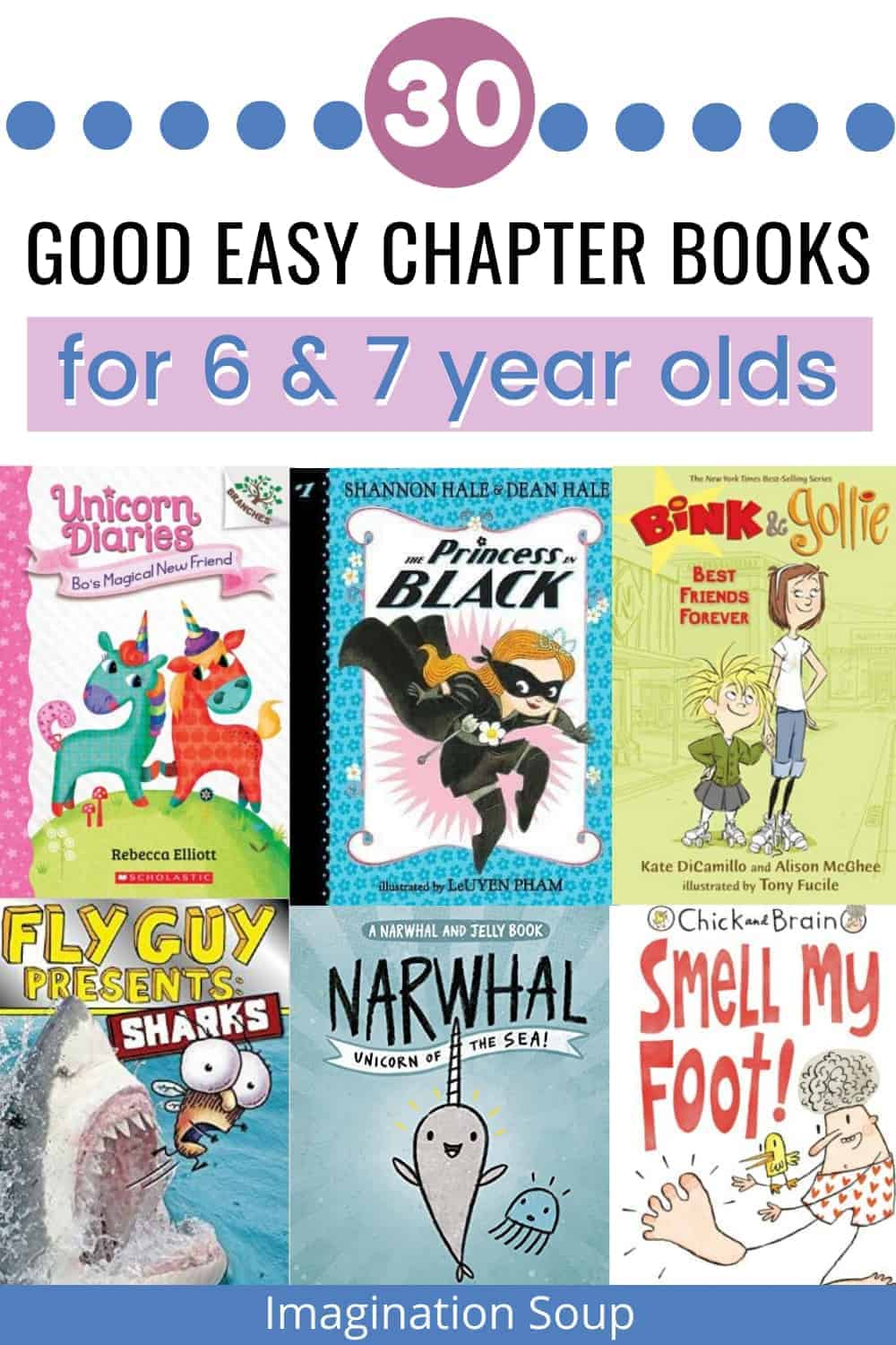 good easy chapter books for 6 and 7 year olds