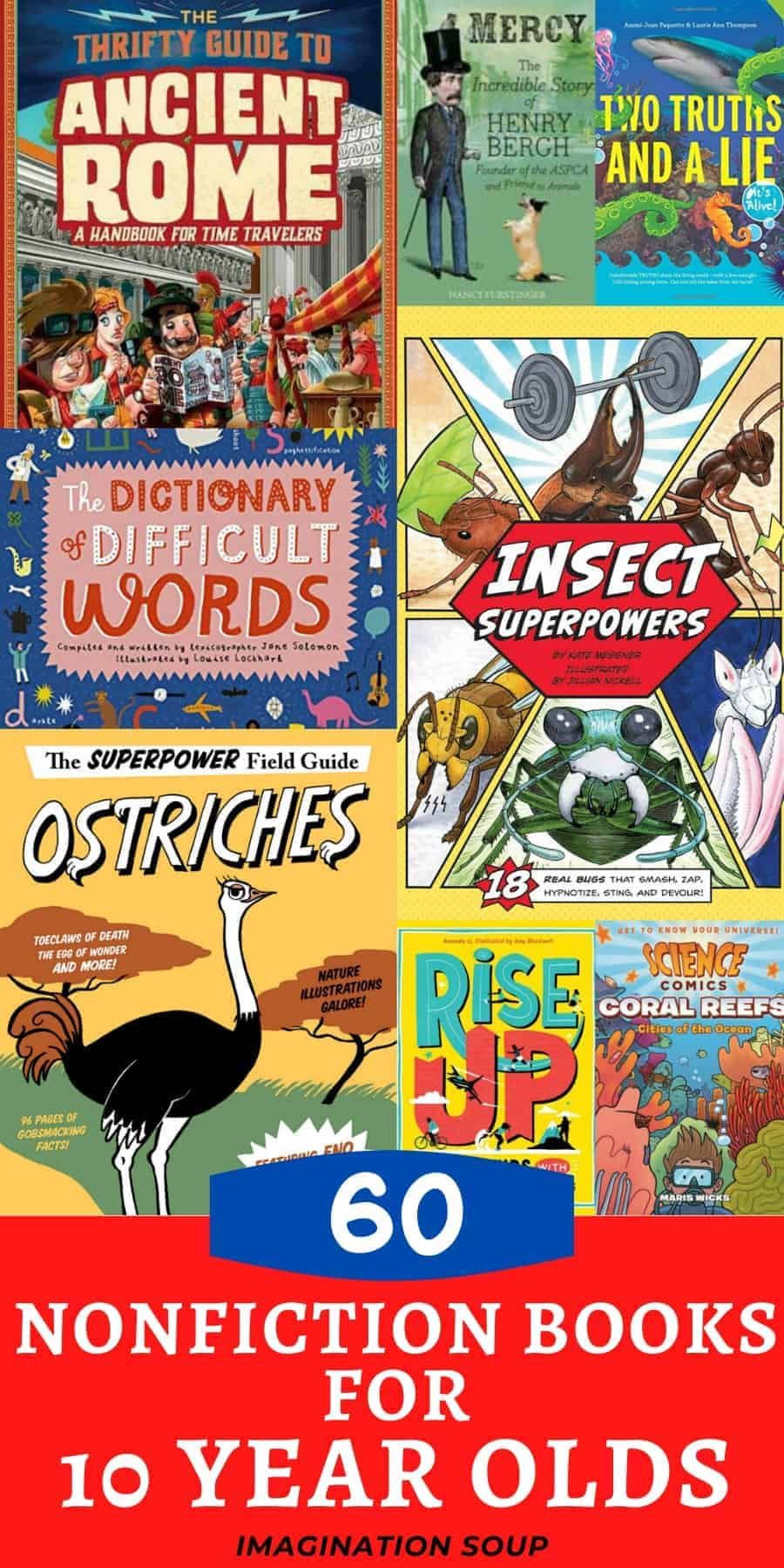 best nonfiction children's books for 10 year olds