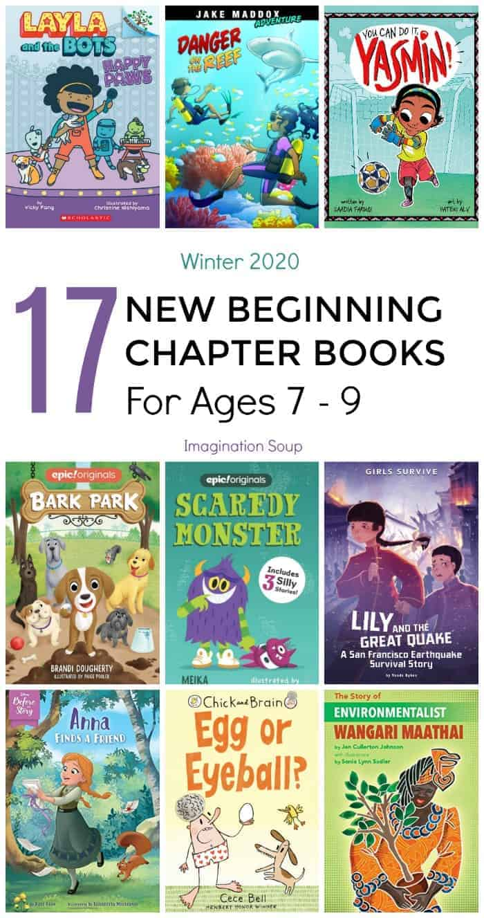 new beginning chapter books for ages 7, 8, and 9