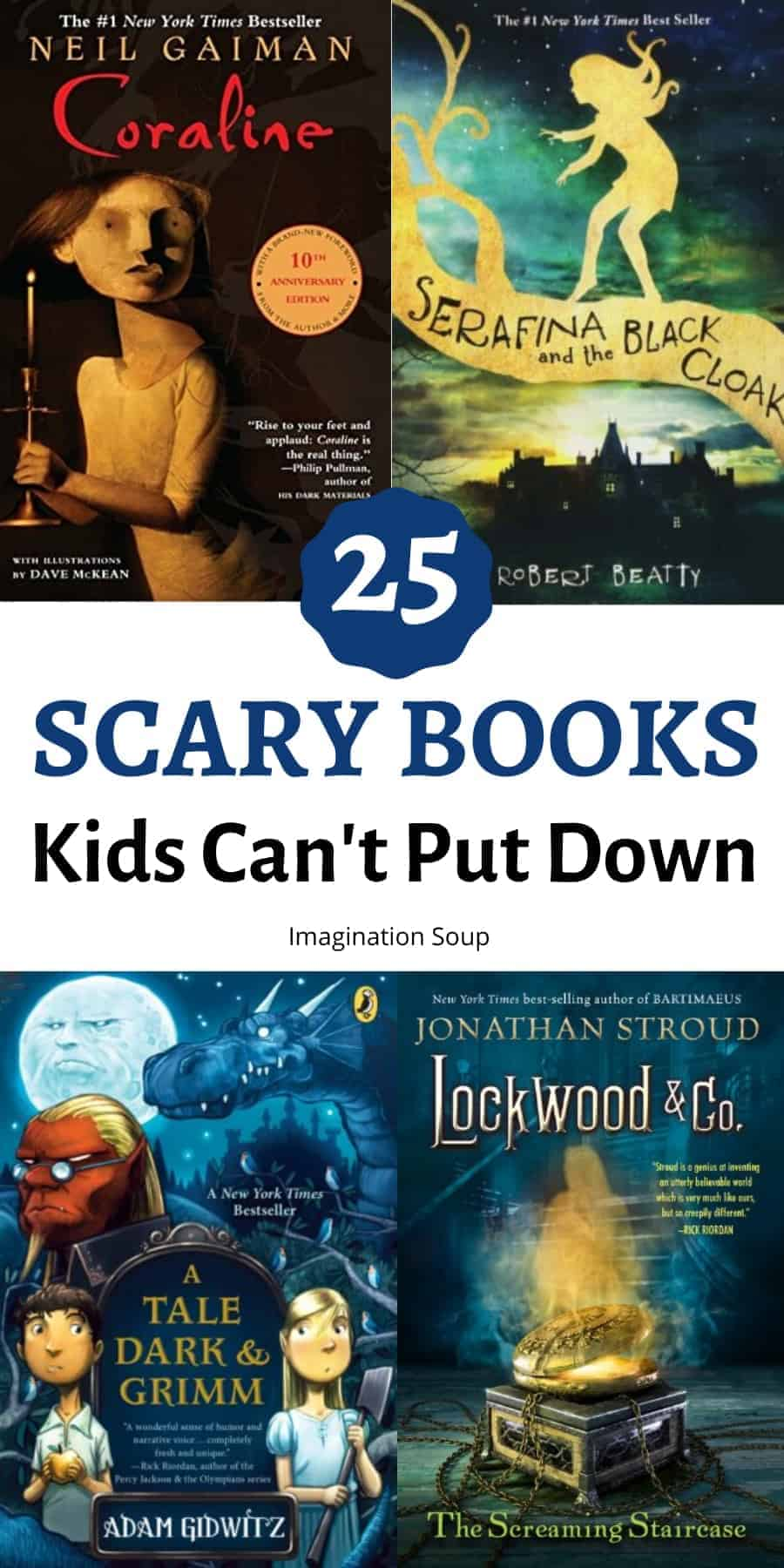 the best scary chapter books kids can't put down