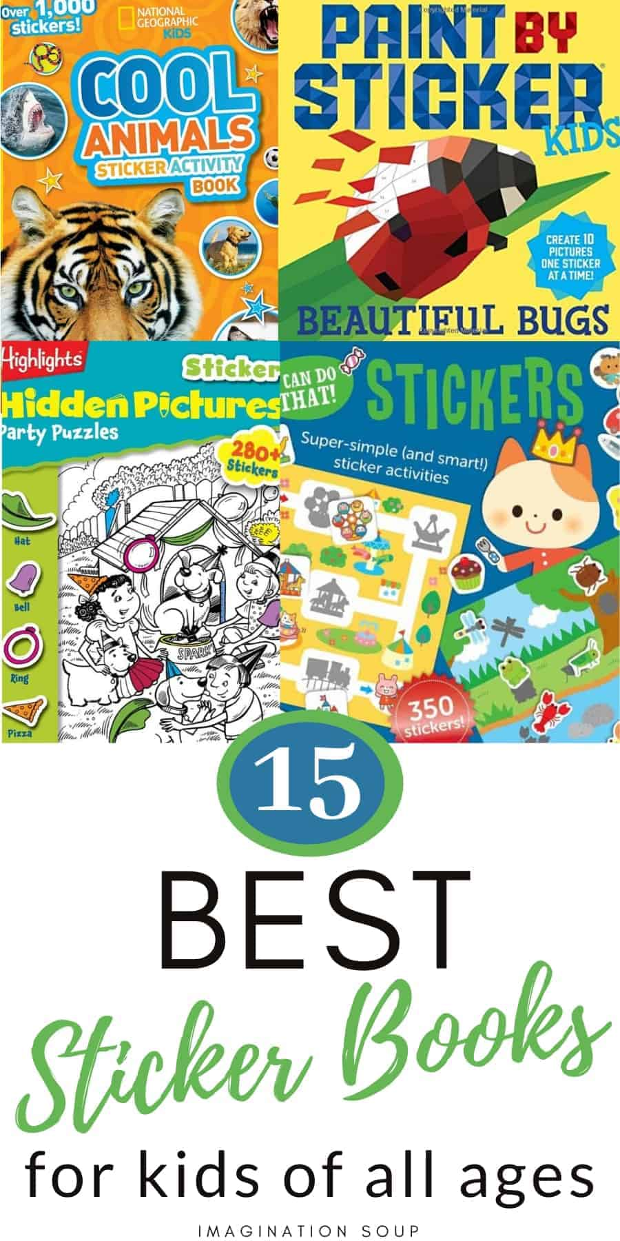 15 best sticker books for kids of all ages