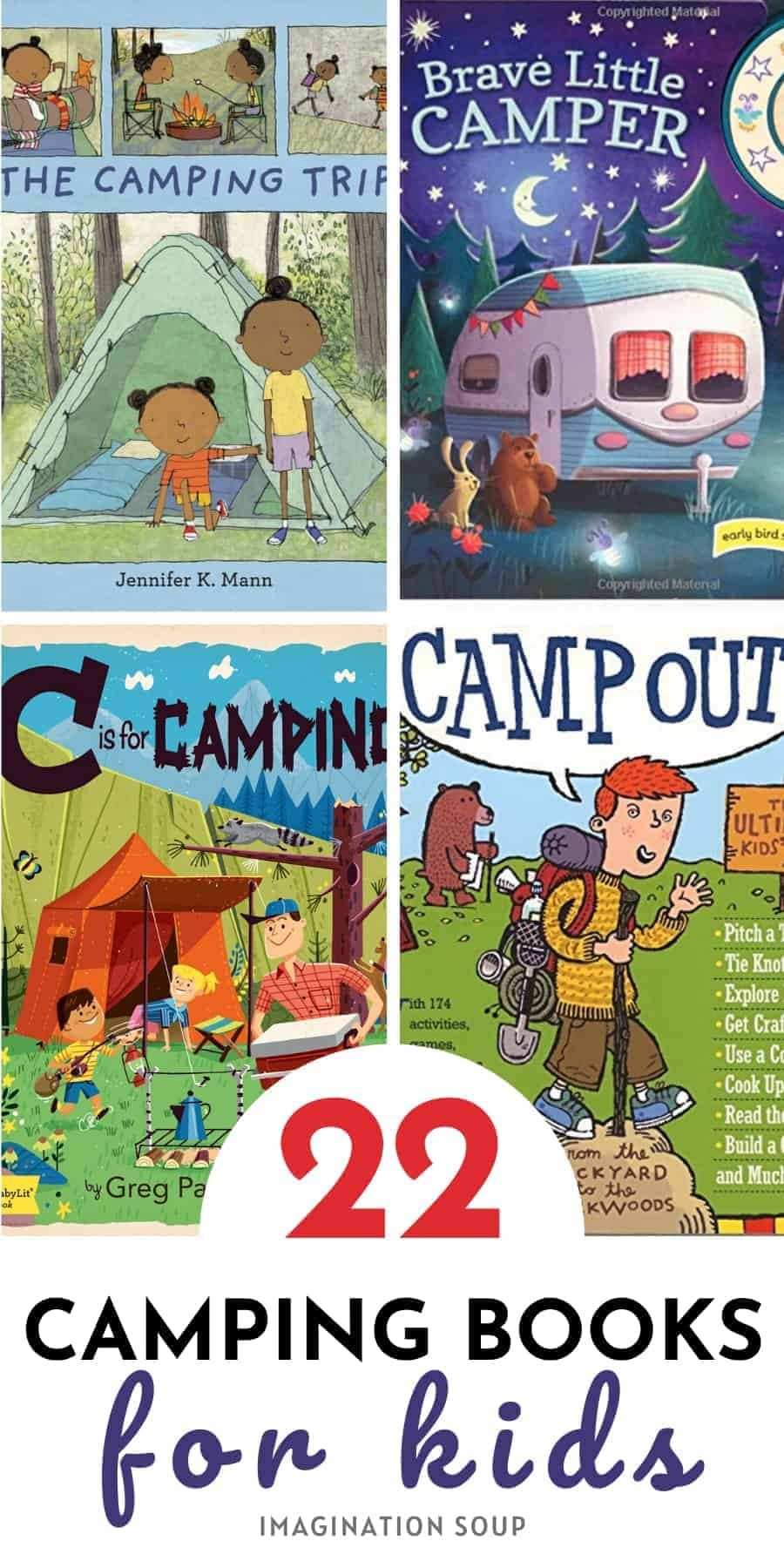 22 CAMPING BOOKS FOR KIDS
