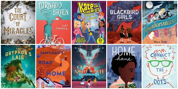 26 New Books for Kids spring 2020