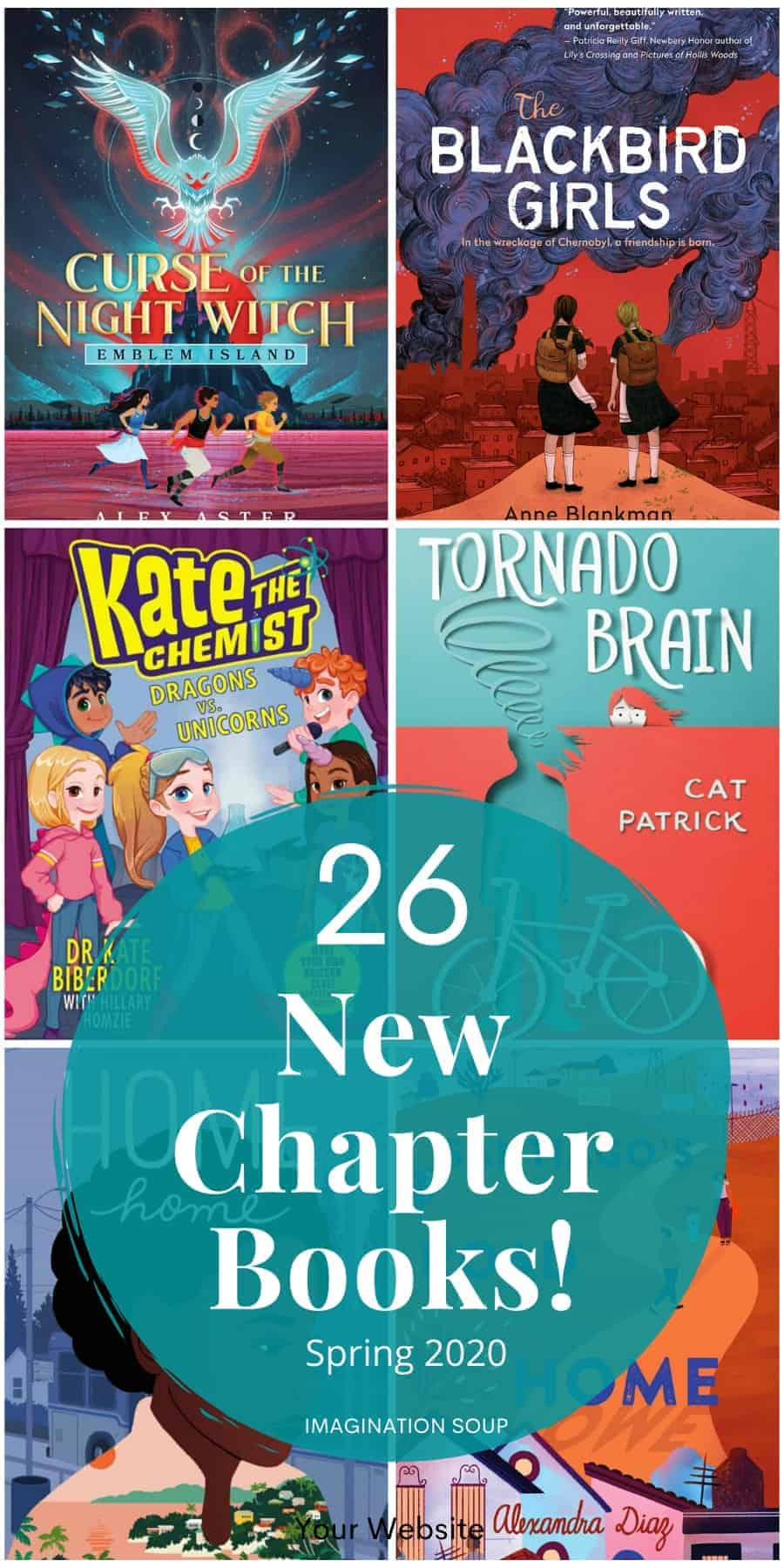 26 incredible new chapter books for kids (spring 2020)