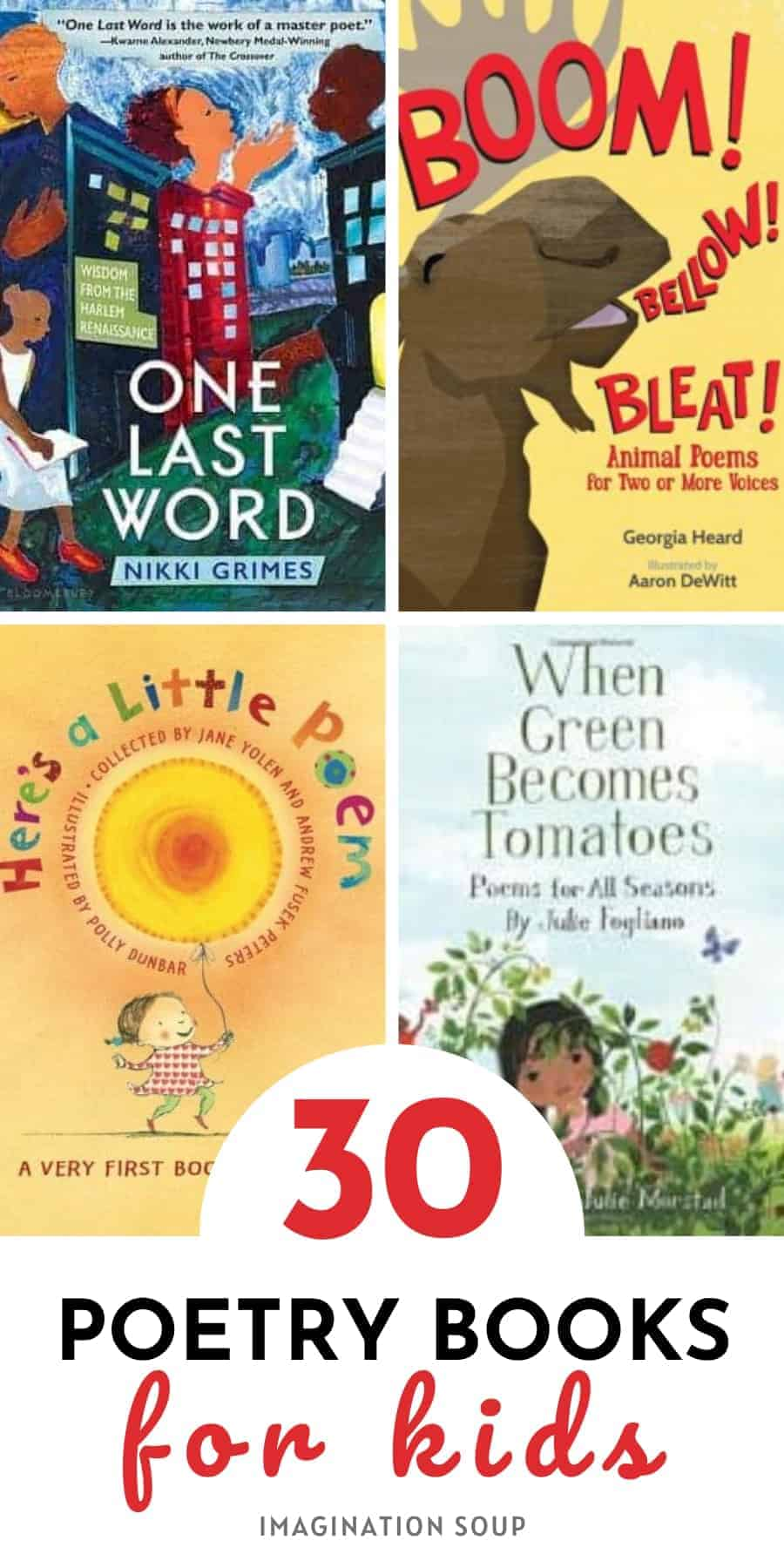30 best poetry books for kids