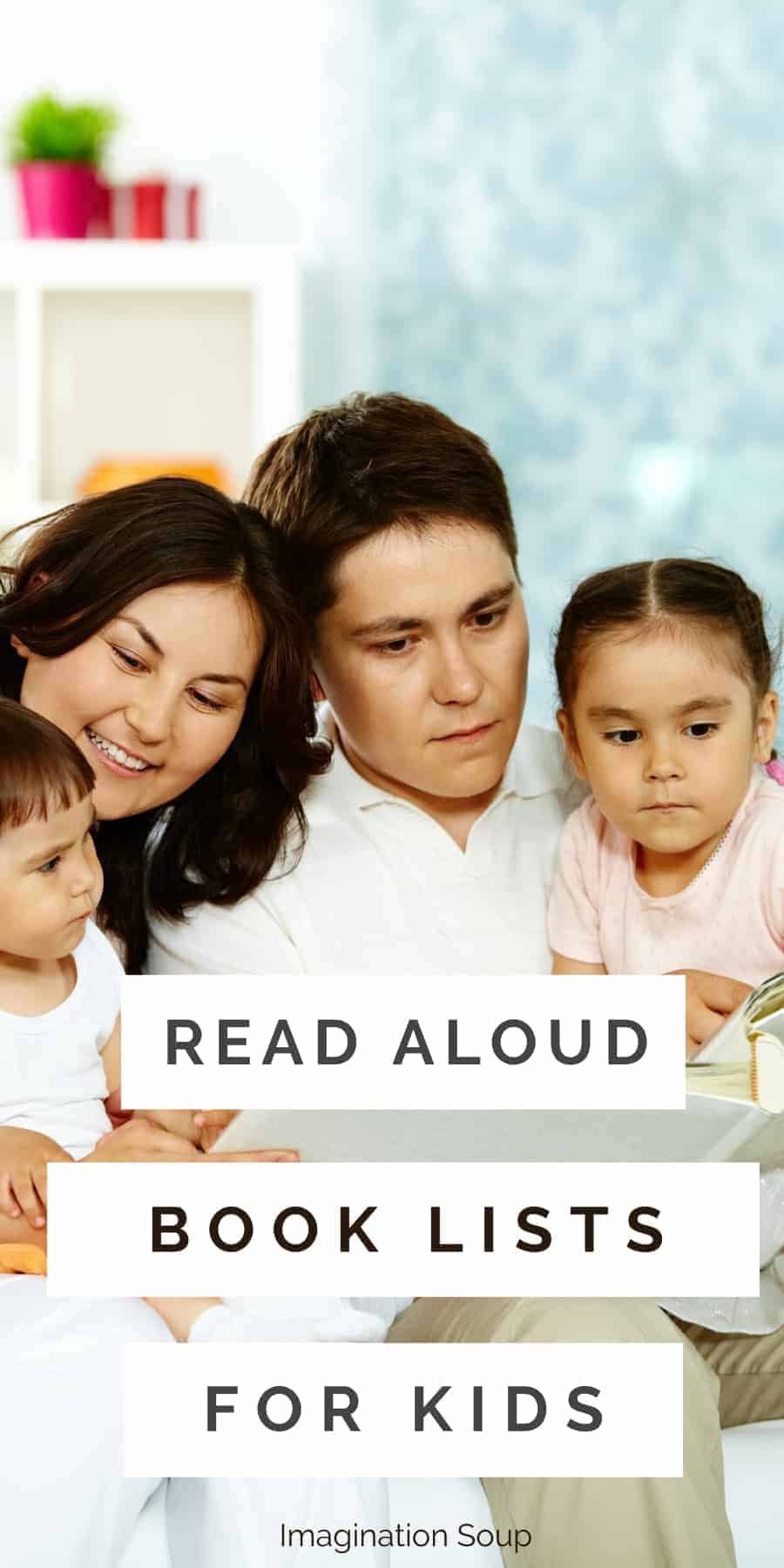 read aloud book lists for kids of all ages