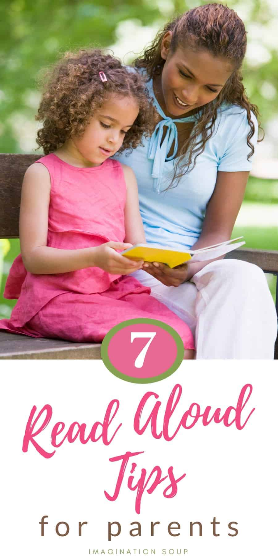 Tips for Read Aloud Time with Kids