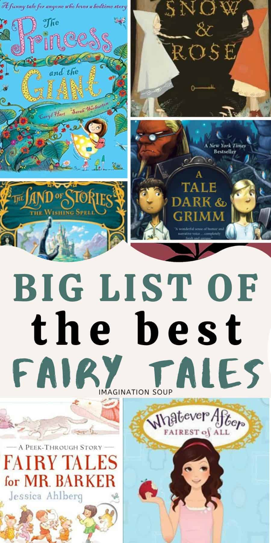 big list of fairy tales for kids