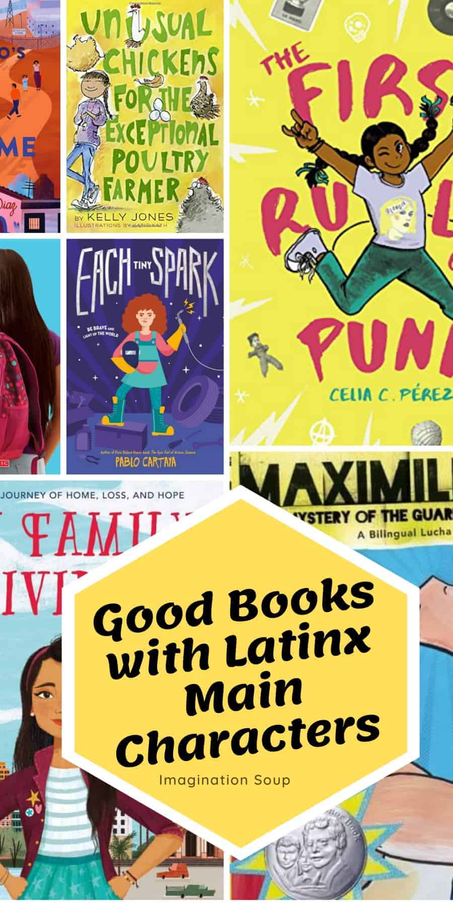 Good Chapter Books with Latinx Main Characters