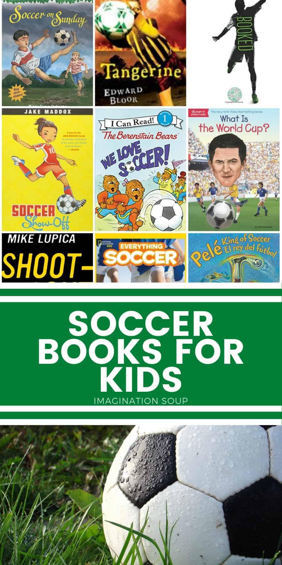 good soccer books for kids