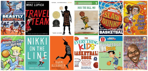 great basketball books for children