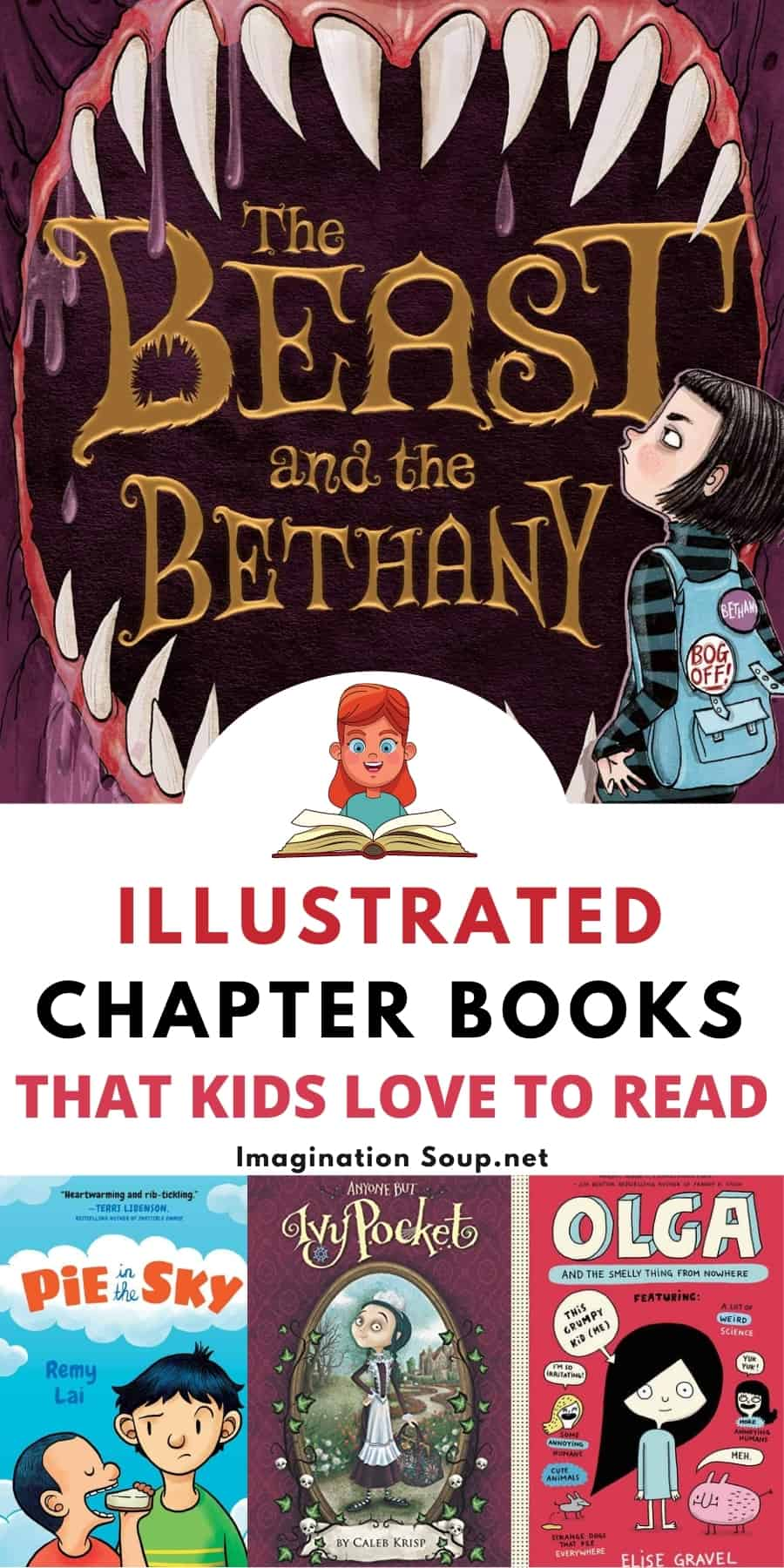 illustrated chapter books that kids love to read