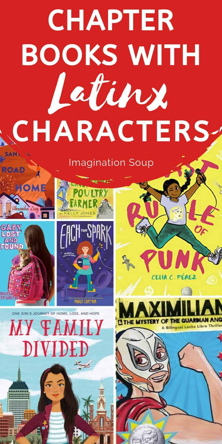 middle grade books with Latinx main characters