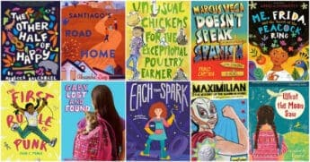 middle grade chapter books with latinx characters