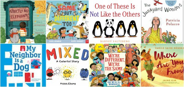 picture books about racism, prejudice, and inclusion