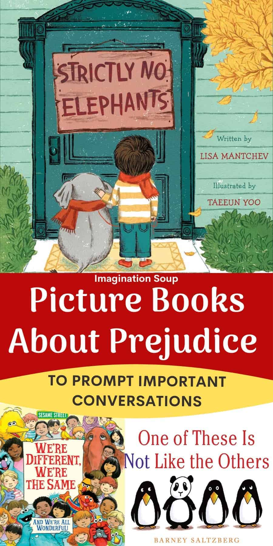 picture books for kids about racism, prejudice, and inclusion