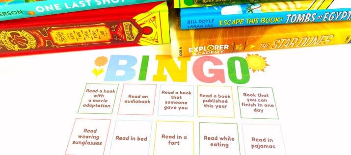 printable reading bingo for kids