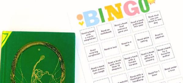 free printable summer reading bingo
