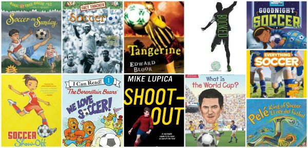 soccer (football) children's books for kids