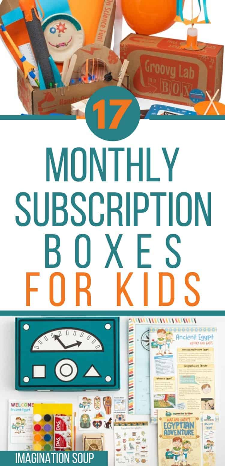 the best monthly subscription boxes for kids  (crafts, science, books, LEGO, and more)