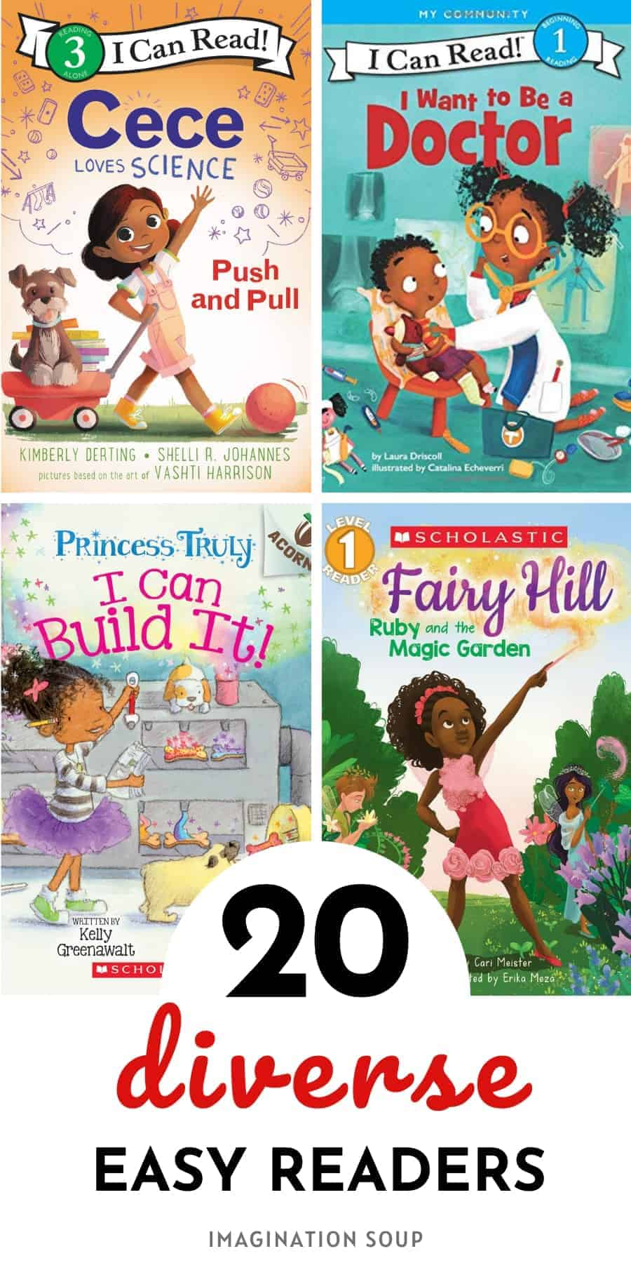 20 diverse easy readers