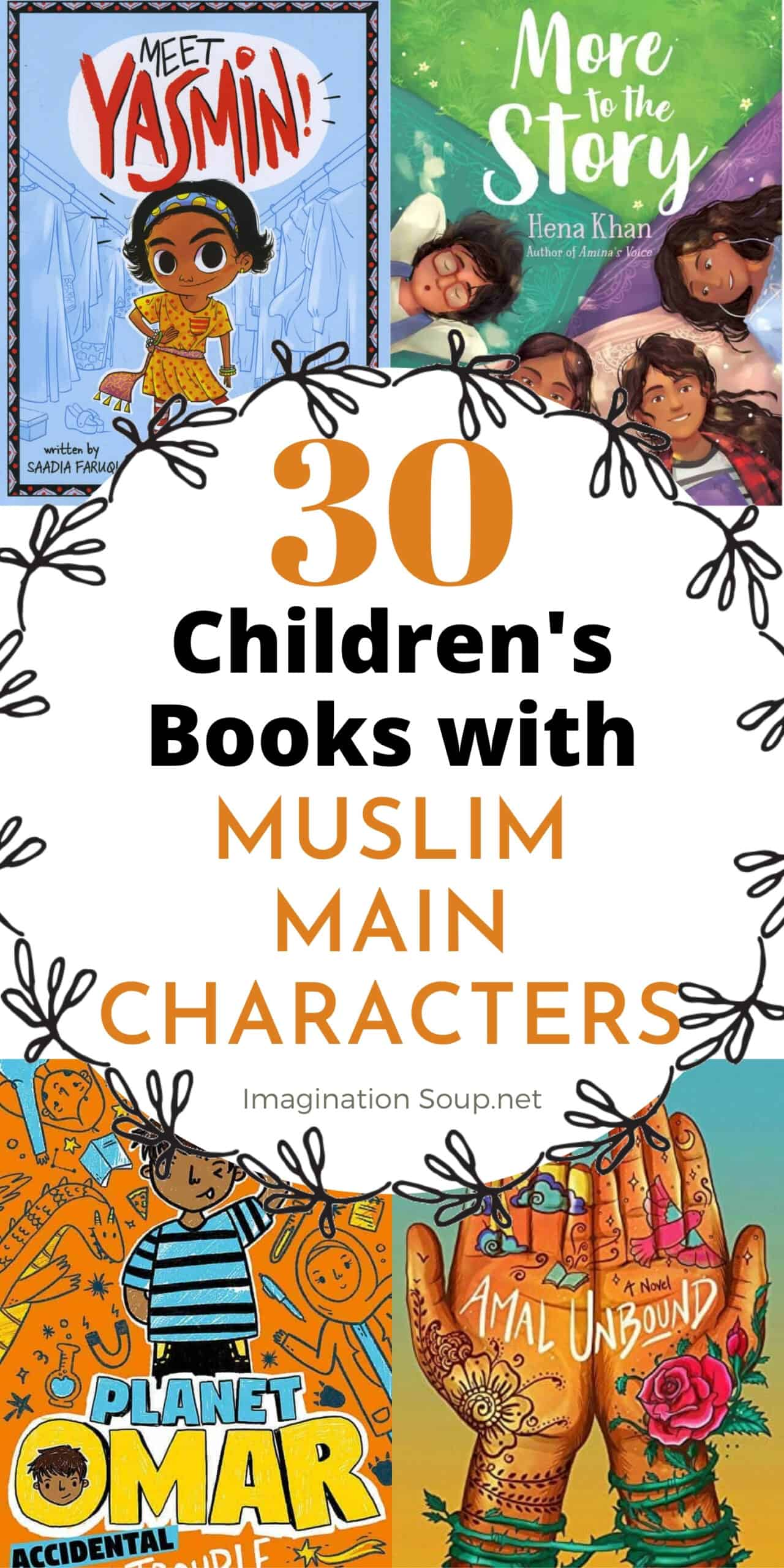 30 Children's Books with Muslim Characters