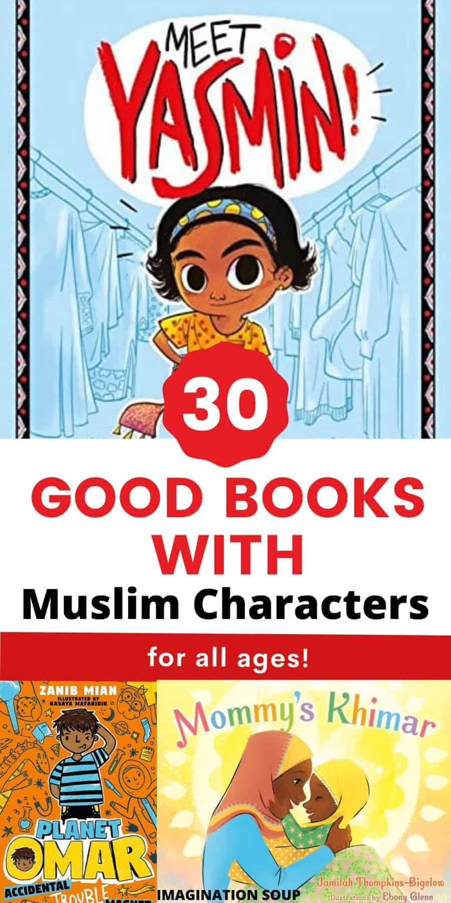 30 good children's books with Muslim Characters