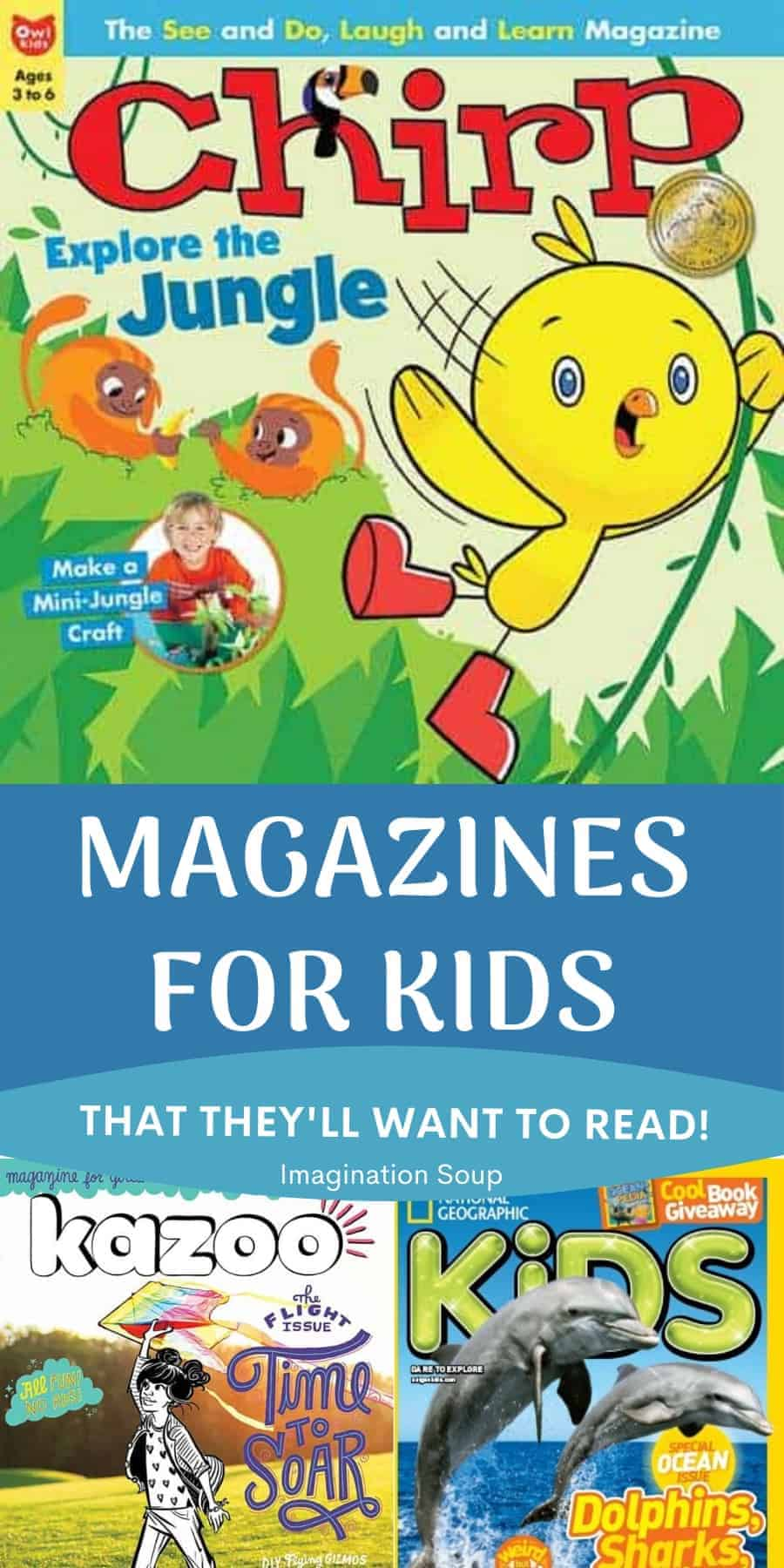 best magazines for kids to read