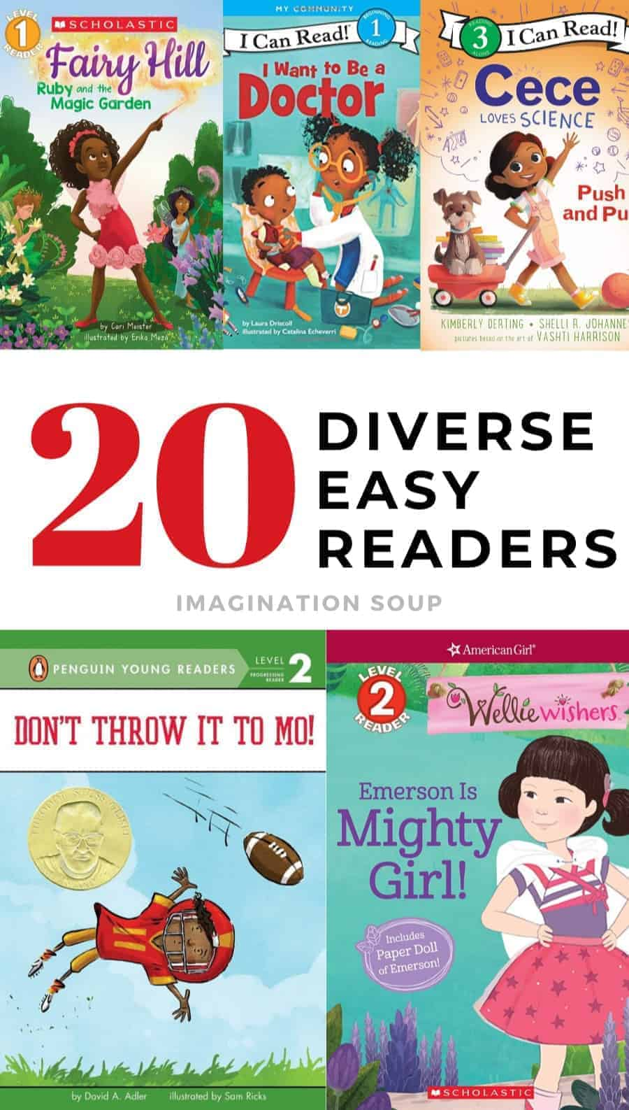 Diverse Easy Reader Books for Emergent Readers
