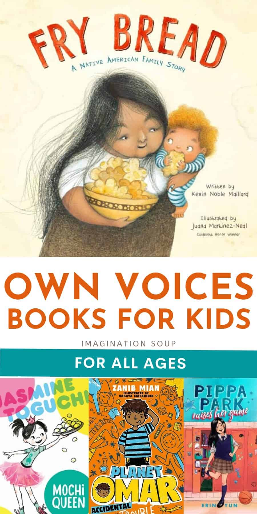 OwnVoices Books for Kids of All Ages