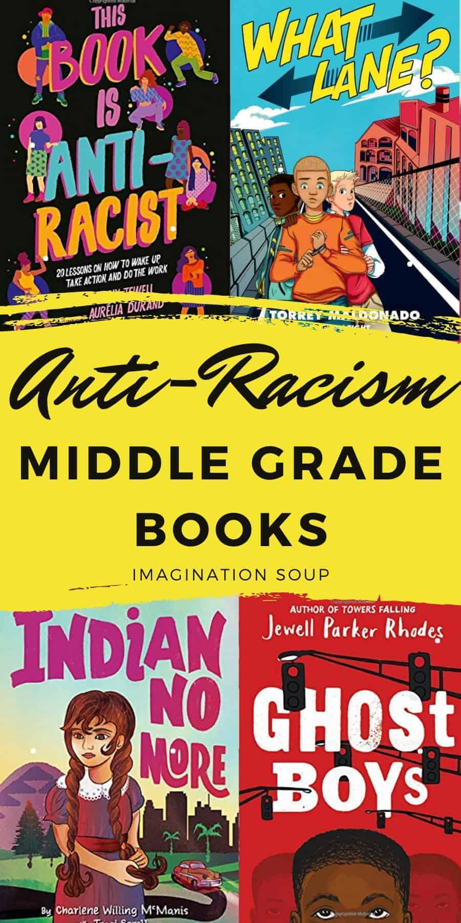 anti-racism middle grade books for kids ages 8 - 12