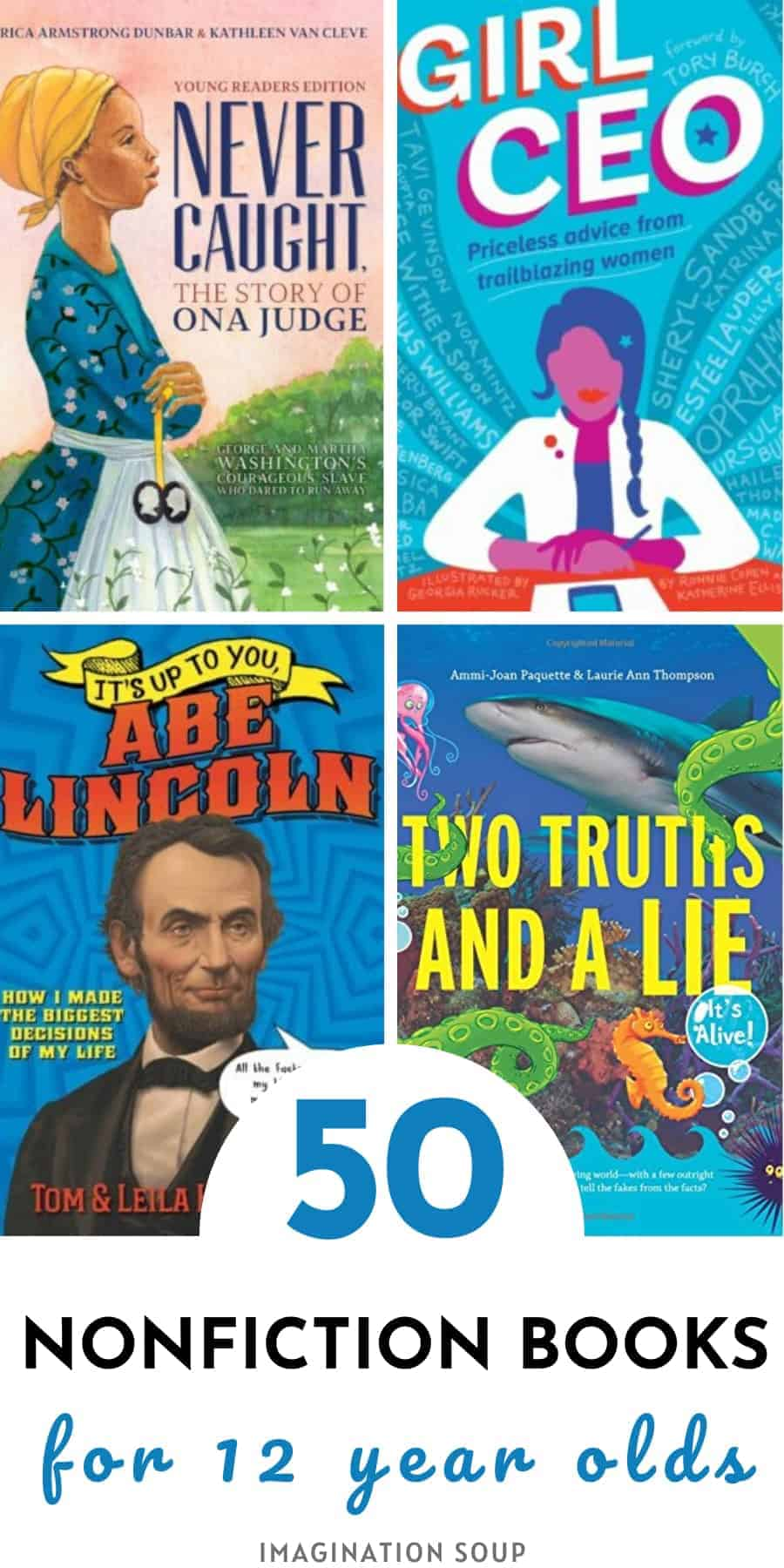 best nonfiction books for 12 year olds (7th grade)