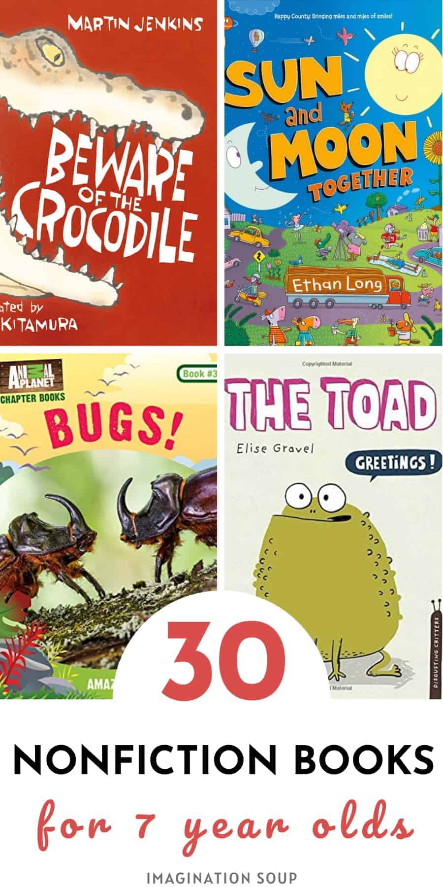 best nonfiction books for 7 year olds in 2nd grade