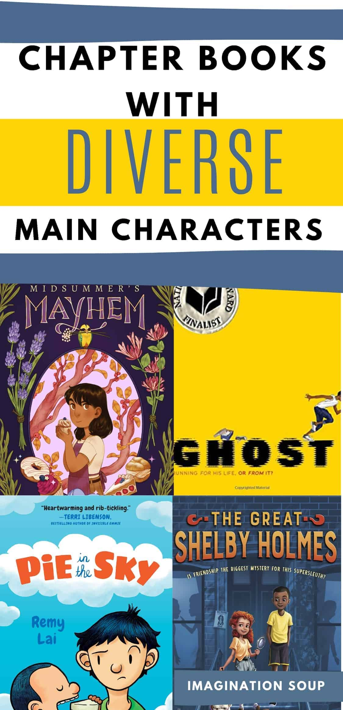 chapter books with diverse main characters