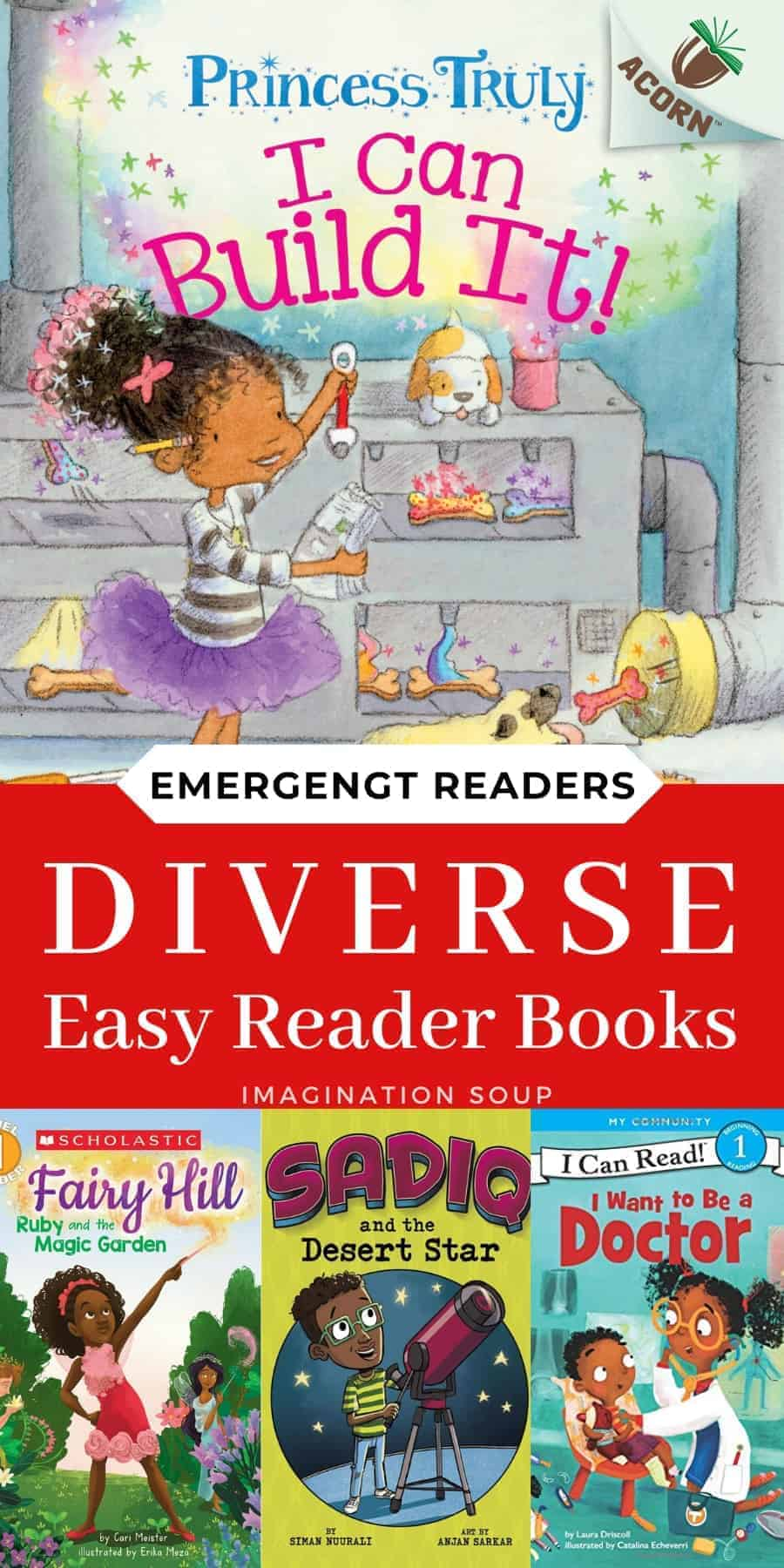 diverse easy readers for emergent readers