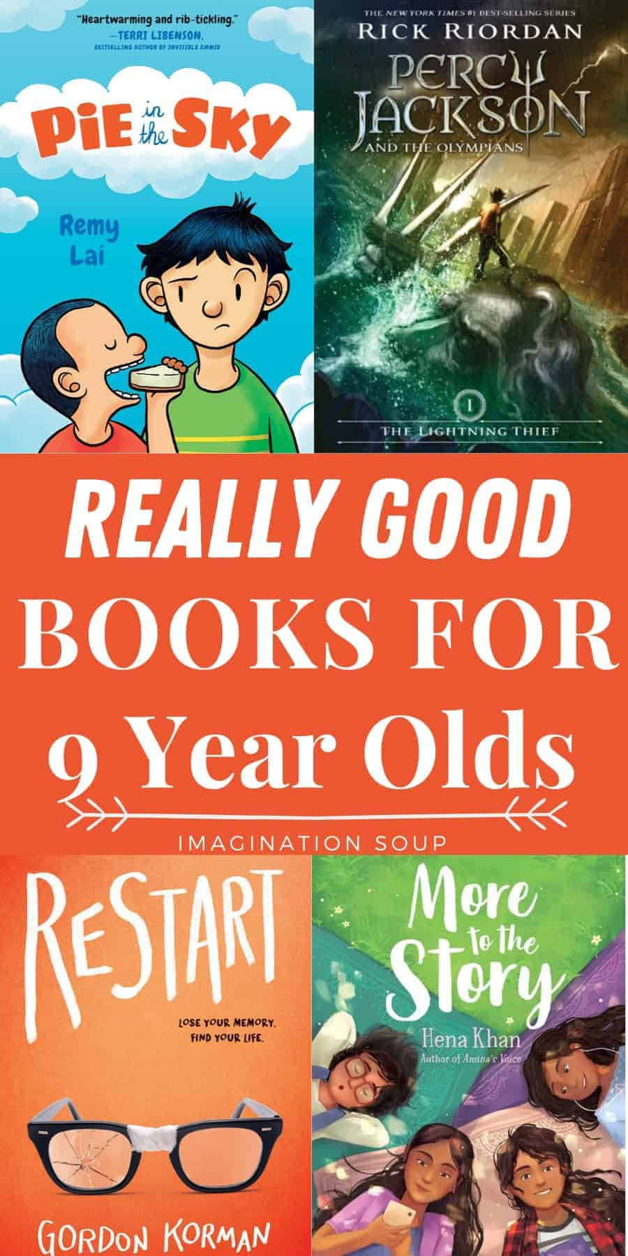 really good books for 9 year old kids in 4th grade (boys and girls)