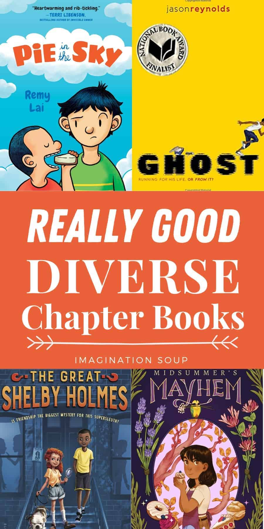 really good diverse chapter books