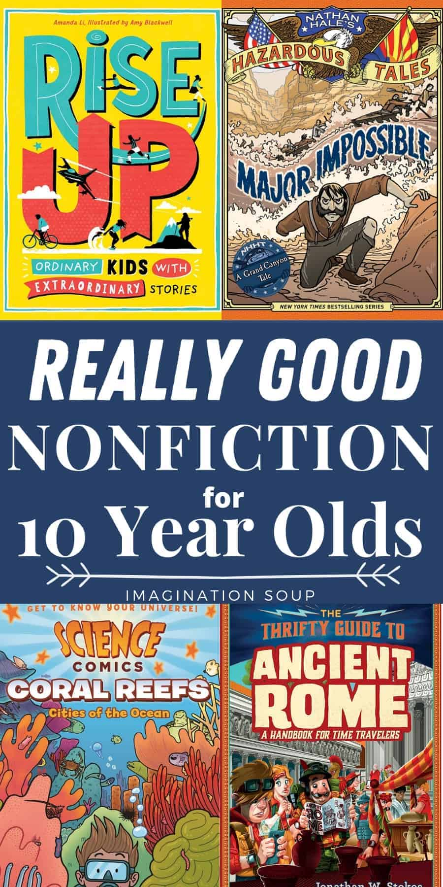 really good nonfiction for 10 year olds (5th grade)