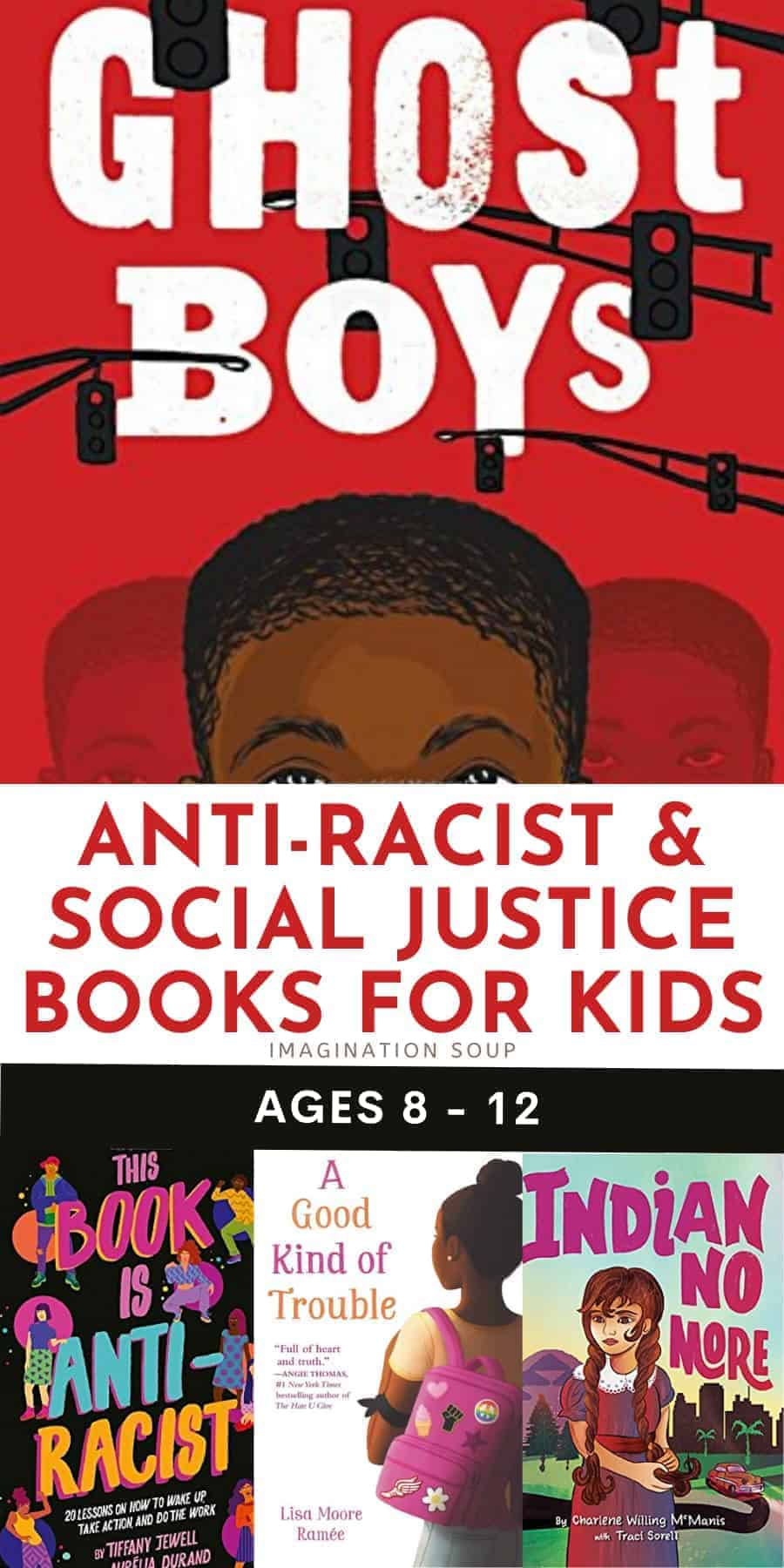 social justice and anti-racist books for kids