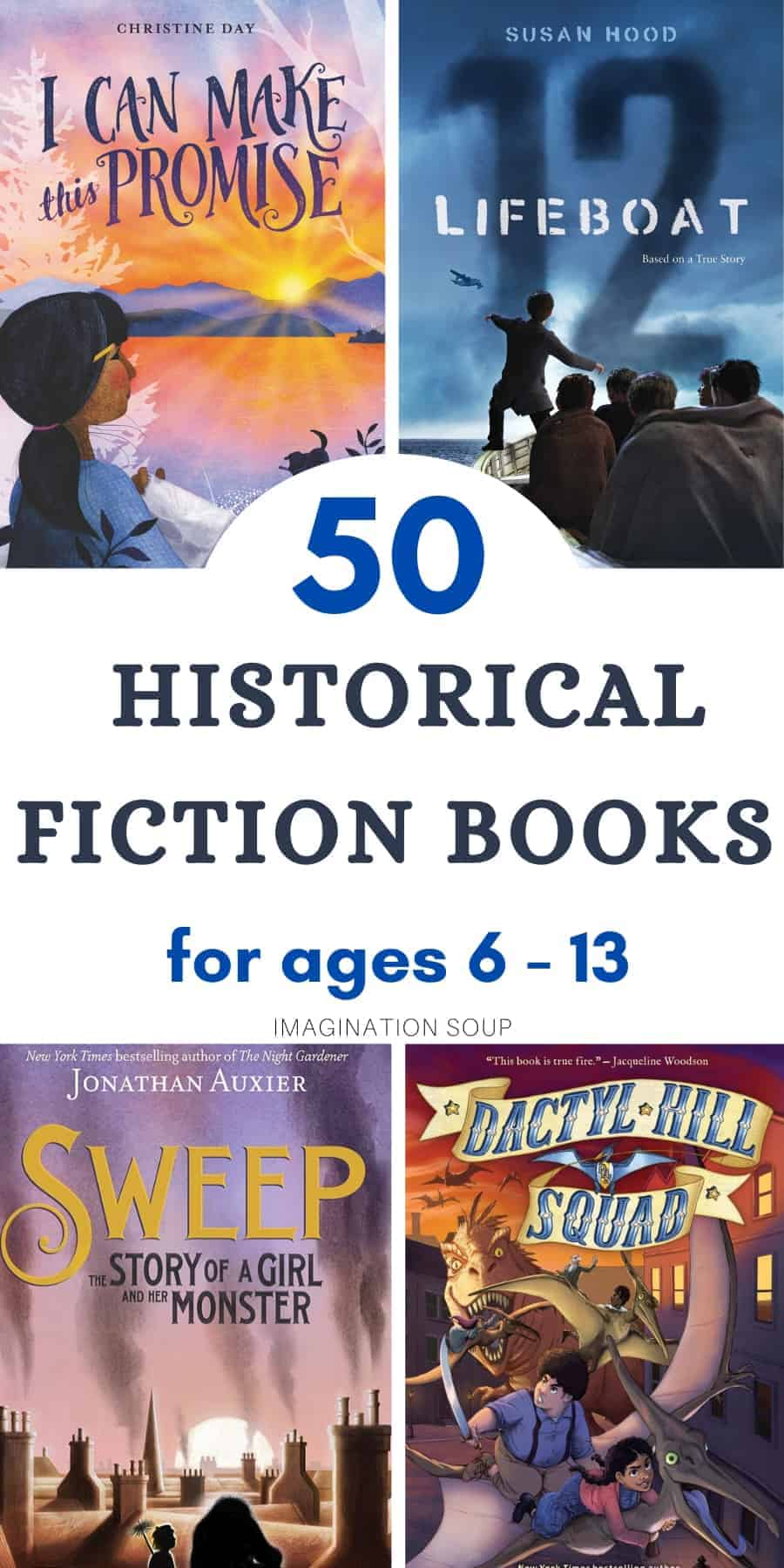 the best list of historical fiction chapter books for all ages