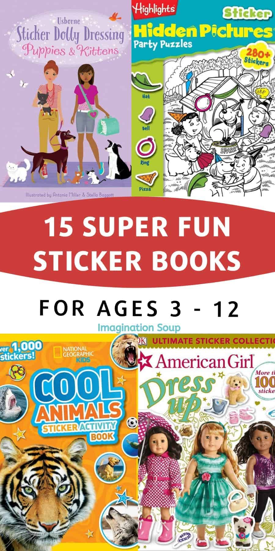 15 awesome sticker books for kids