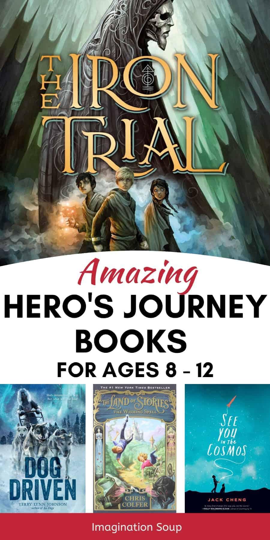 Hero's Journey Middle Grade Books